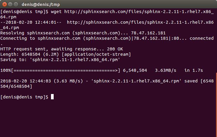 Как установить sphinx на хостинг домен и хостинг для joomla 3