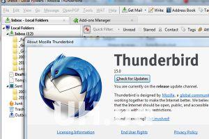 Миссия: зарегистрировать почту в Thunderbird 15. Новый интерфейс от Mozilla
