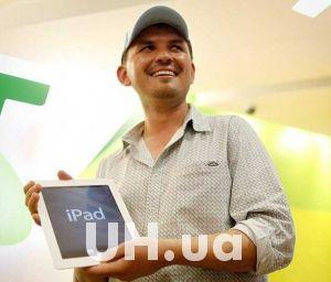 Сегодня начались продажи нового iPad - первые счастливчики